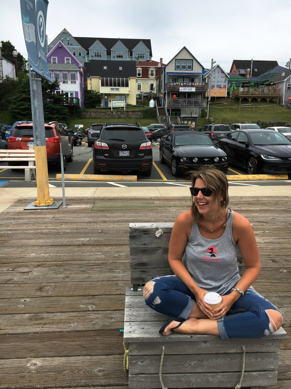 Coffee Break - Lunenburg - East Coast Mermaid