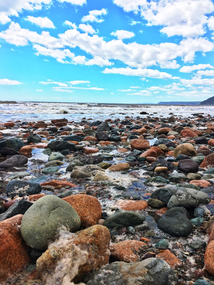 Pebbles 2 - Long Beach - Fundy Trail Parkway