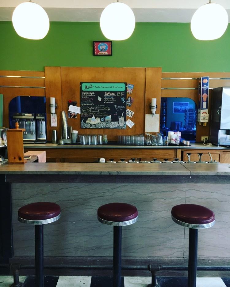 Mel's Tearoom Diner Sackville New Brunswick