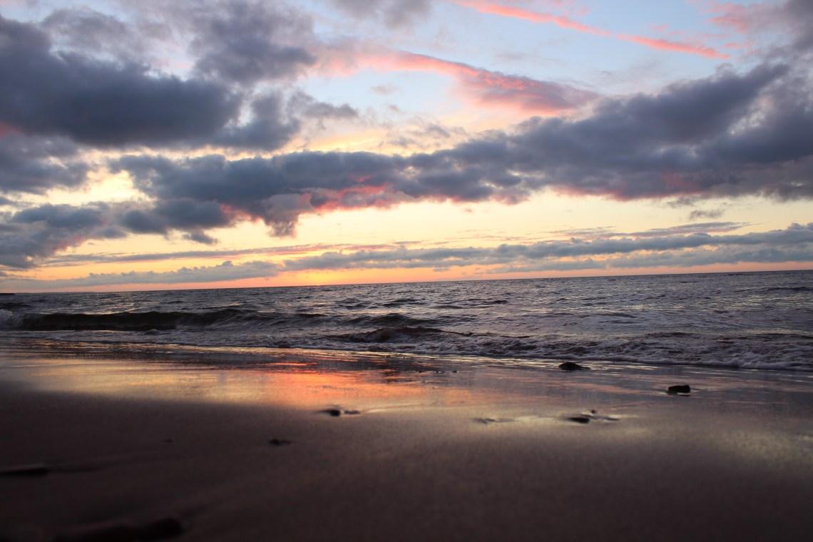 east coast mermaid prince edward island sunset
