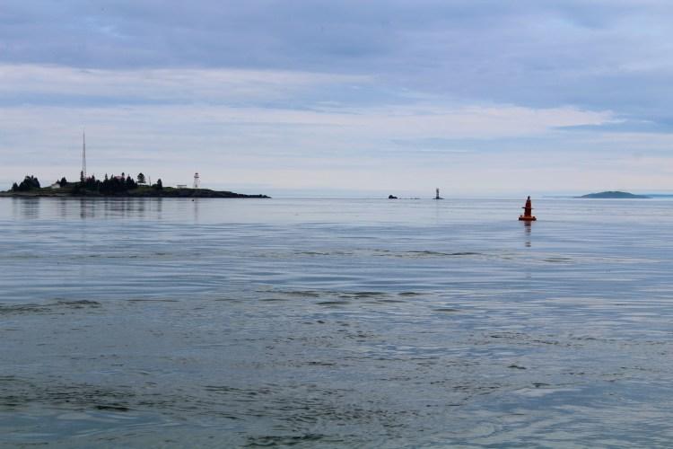 Deer Island Ferry View