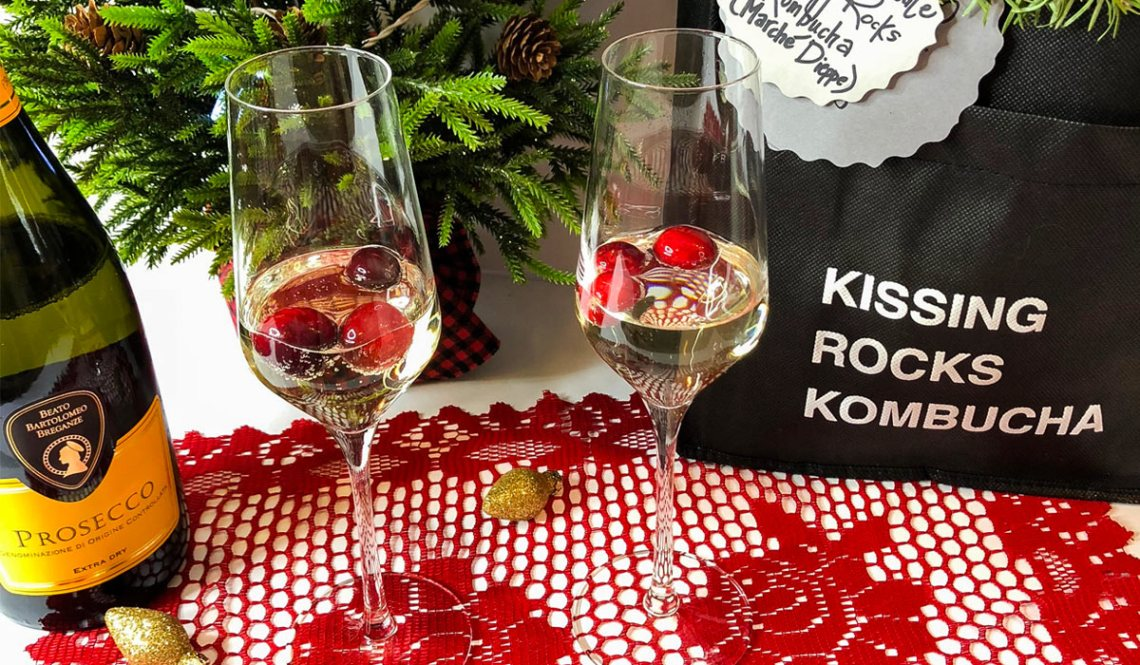 Holiday Cocktail Recipe: Kombucha Spritz