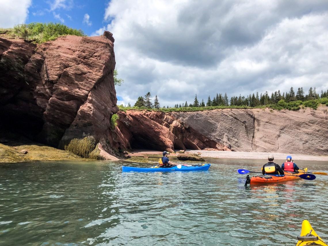St. Martins Sea Kayaking Sea Caves 2
