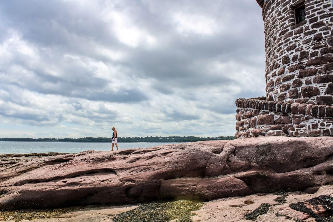 Minister's Island - New Brunswick - Van Horne Bath House 2