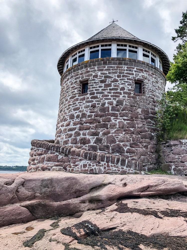 Minister's Island - New Brunswick - Van Horne Bath House