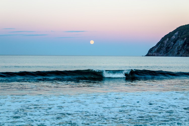 Cabot Trail - Moon Rise Beach 2