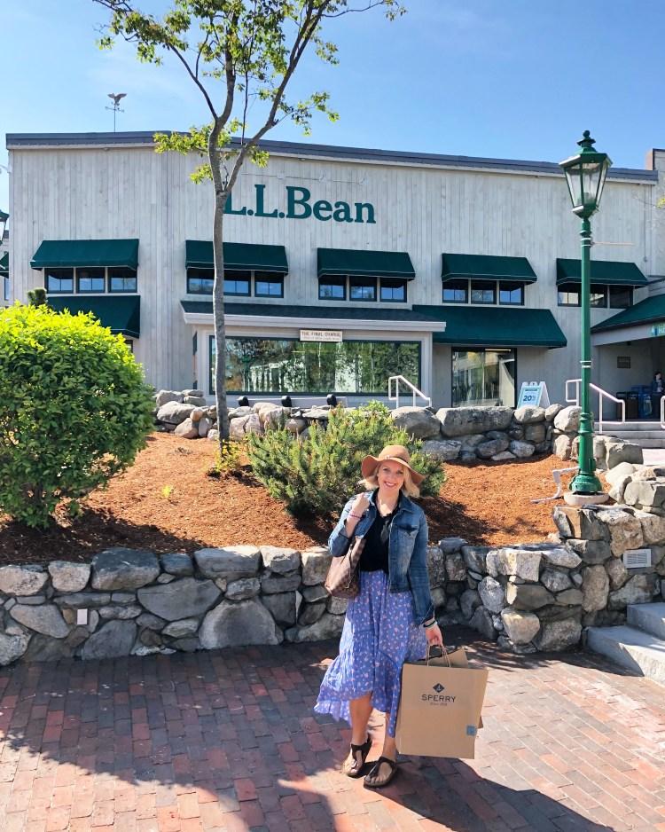 LL Bean Freeport Maine - East Coast Mermaid