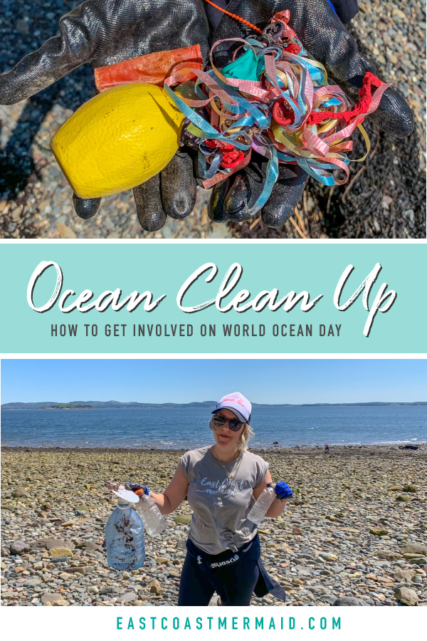 On World Ocean Day, the East Coast Mermaid crew went to help with an ocean clean up. This is what happened and how you can get involved.