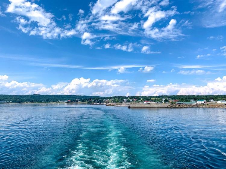 Leaving Grrand Manan - East Coast Mermaid