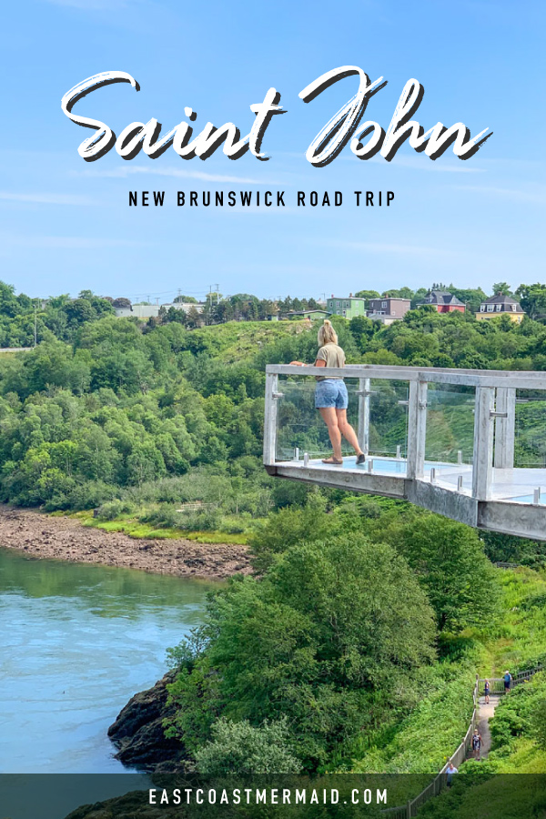 Plan the perfect afternoon in Saint John New Brunswick with our handy day guide.   #tourismNB #tourismnewbrunswick #canadian #travelcanada #travelblogger #daytrip #travelplanner