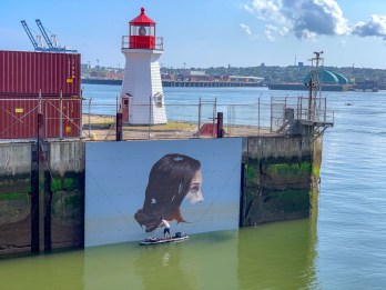 The Hula Murral - East Coast Mermaid 2