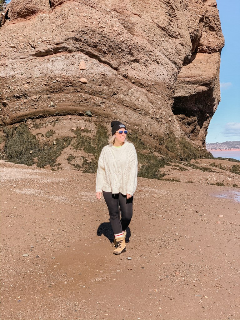 East Coast Mermaid's Winter Escape to the Hopewell Rocks