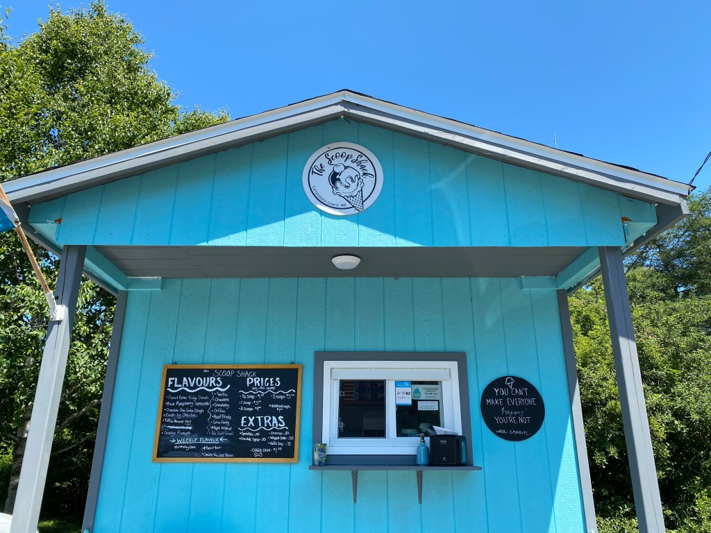 The Scoop Shack in the sunshine