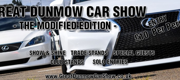 Great Dunmow Car Show 2016