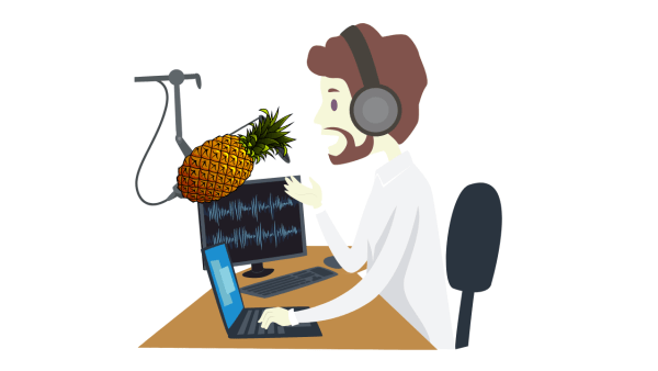 Using a bad microphone is one of the common podcast audio issues