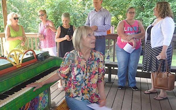 Sunny piano East Cobb Park