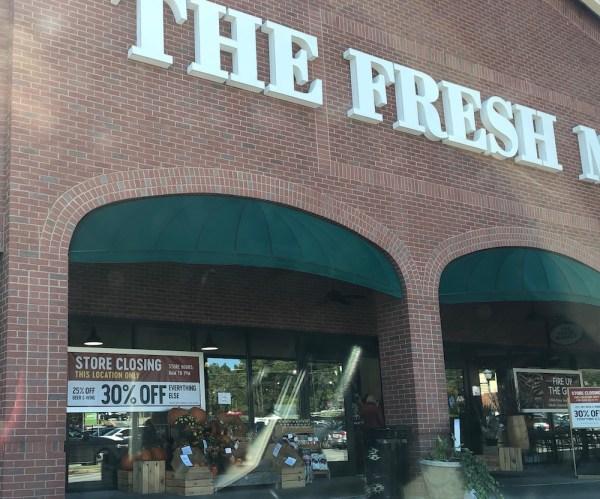 The Fresh Market East Cobb closing