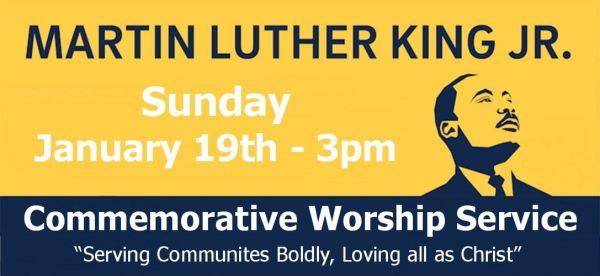 Holy Trinity Lutheran Church MLK service