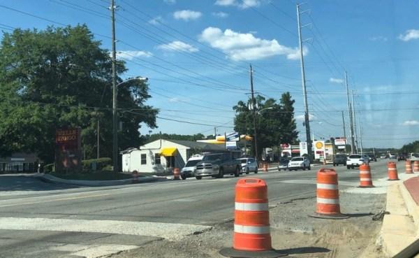 Sandy Plains road closures