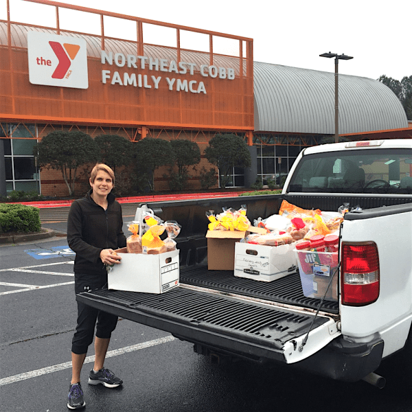 East Cobb, Northeast Cobb YMCA Help To Provide Food Relief