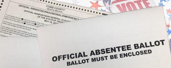 Cobb Absentee Ballot Envelope