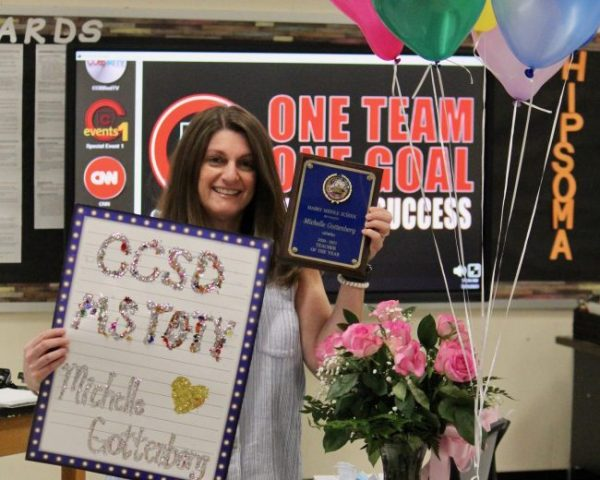 Michelle Gottenberg, Mabry Middle School, Cobb teacher of the year