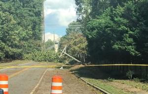 East Cobb road closures Zeta