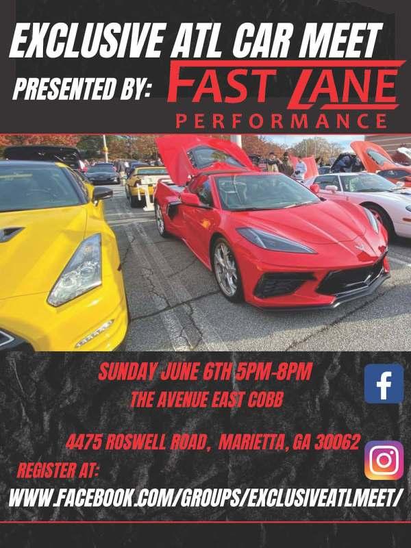 Avenue East Cobb car show