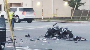 East Cobb motorcycle crash