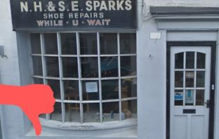 Plans for a new restaurant at 20 New Street, Honiton, have been turned down. Picture: Google Maps