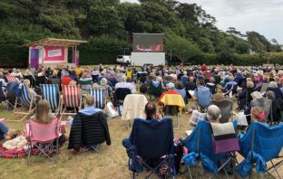 An Exmouth open-air cinema at the Queen's Drive Space will screen blockbusters this summer