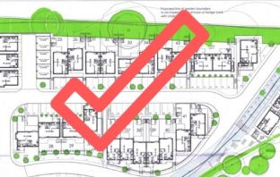 Plans for new homes in Budleigh Salterton have been approved.