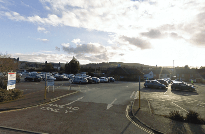 Archive photo - Lace Walk car park in Honiton. Image: Google Maps