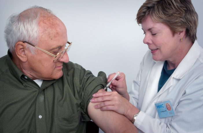 Flu jab East Devon Exeter