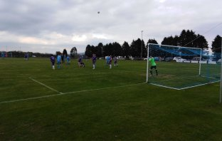 Action from Beer Albion's match with Whipton and Pinhoe at Furzebrake. Picture: Richard Honnor