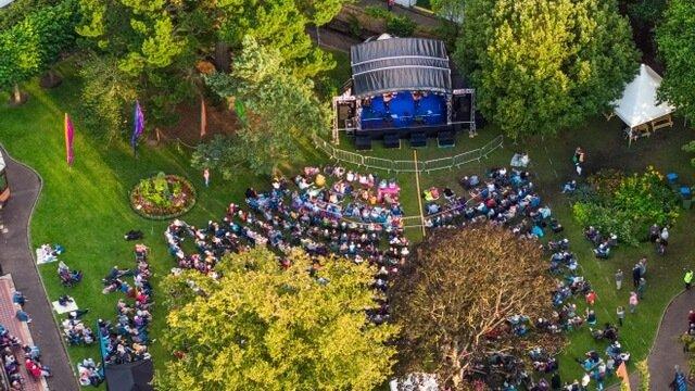 Sidmouth Folk Festival 2021. Image: Kyle Baker