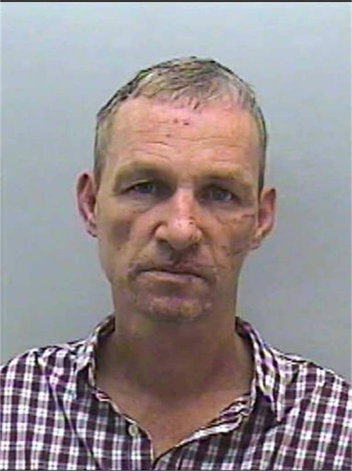 Simon Mortimer, 52, who has links to Exeter, is wanted on recall to prison.
