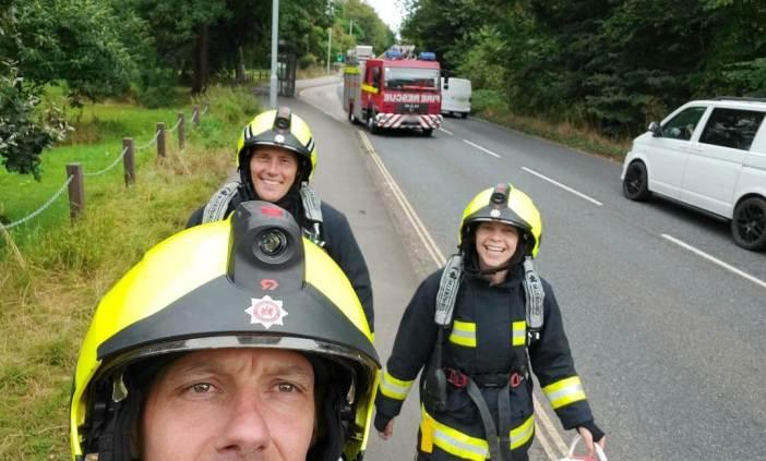 East Devon firefighters