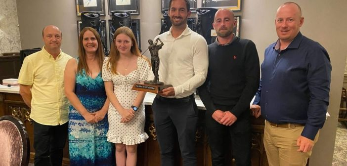 Golf glory for Exmouth as building suppliers celebrate winning regional charity tournament