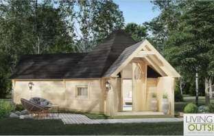 East Devon Upottery An artist's impression of how the glamping pods will look. Image: Living Outside Ltd