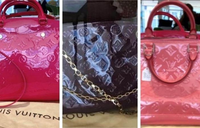 The bags stolen from a shop in Old Fore Street, Sidmouth.