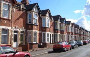 Devon Stock photo - houses in Exeter. Image: Derek Harper/Geograph