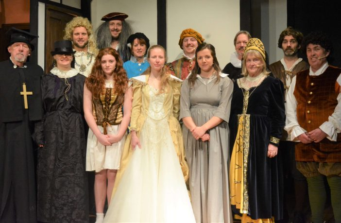 Axminster Drama Club's last production was in February 2020 when members performed various episodes from Blackadder.