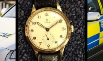 The watch stolen from a home in Lyndhurst Road, Exmouth. Image: Devon and Cornwall Police