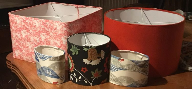Make & Do – June 2018: Lampshade Making