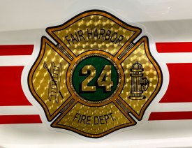 fair harbor fire department decal