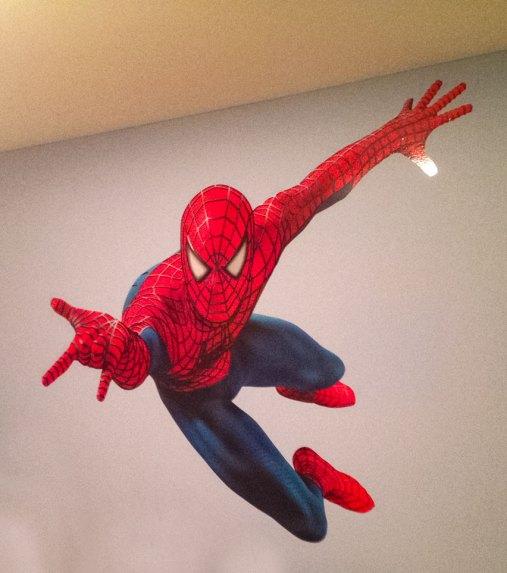 spider man wall wrap