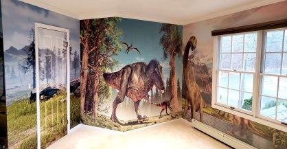 Dinosaur Wall Panorama wall wrap