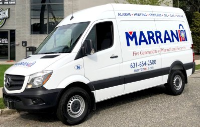 Marran Fuel Oil vehicle lettering