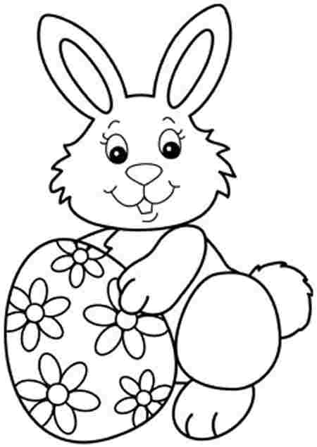 Easter Egg Bunny Coloring Pages Easter Coloring Pages 09 The Easter Bunny Org